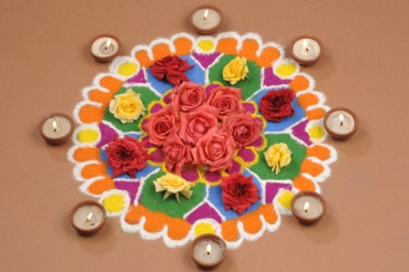 rangoli decoration ideas